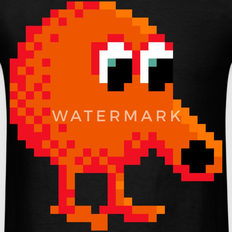 Q*Bert - Men's T-Shirt