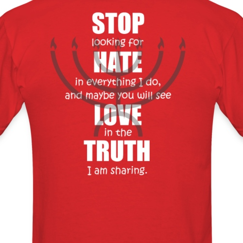 Stop Hate Love Truth