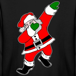Dab Santa Claus Kids' Shirts - Kids' Long Sleeve T-Shirt