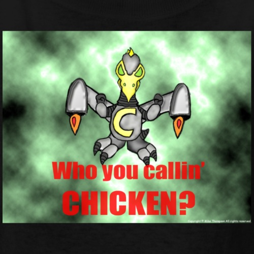 Space-Suited Chicken Boy