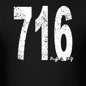Vintage Buffalo Area Code 716 - Men's T-Shirt