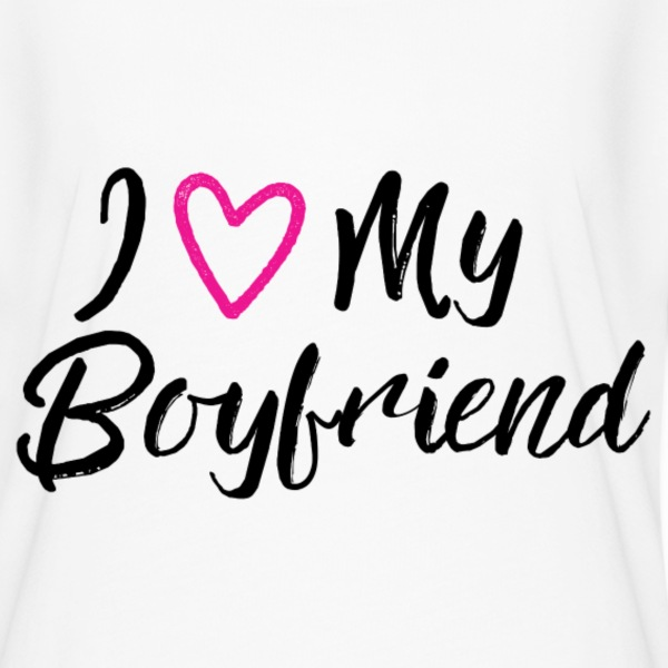 I Love my Boyfriend T-Shirts - Women's Flowy T-Shirt