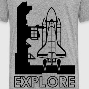 Spaceship Explore Baby & Toddler Shirts - Toddler Premium T-Shirt