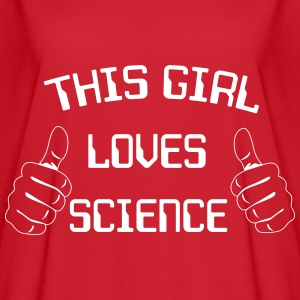 This girl loves science T-Shirts - Women's Flowy T-Shirt