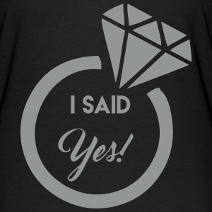 i said yes! T-Shirts - Women's Flowy T-Shirt