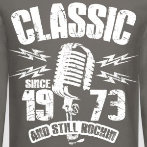 Classic Since 1973 Long Sleeve Shirts - Crewneck Sweatshirt