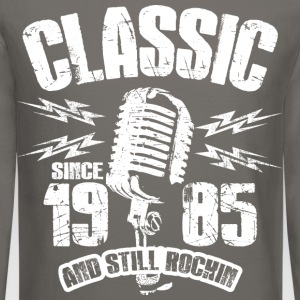 Classic Since 1985 Long Sleeve Shirts - Crewneck Sweatshirt