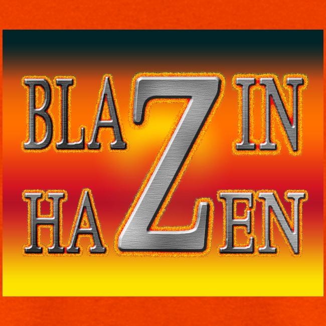 ORANGE BLAZIN T-SHIRT