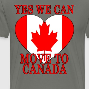 yes_we_can_move_to_canada_ - Men's Premium T-Shirt