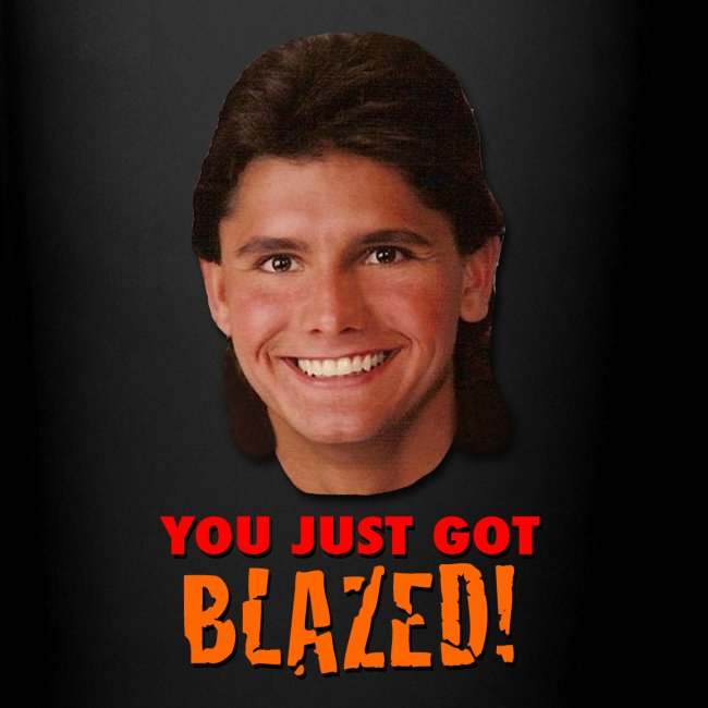 YOU JUST GOT BLAZED! MUG