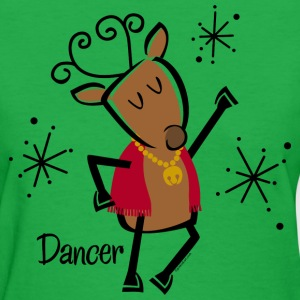 Dancer Reindeer T-Shirts - Women's T-Shirt