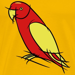 Parrot art design T-Shirts - Men's Premium T-Shirt