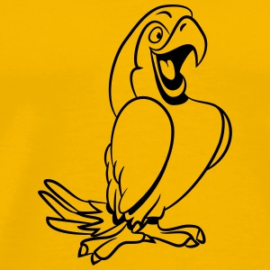 Parrot joy T-Shirts - Men's Premium T-Shirt