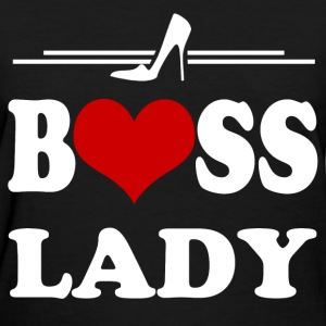 LADY BOSS 23.png T-Shirts - Women's T-Shirt