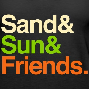 Sand Sun Friends Tanks - Women's Premium Tank Top