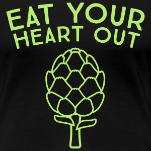 Artichoke. Eat your heart out.  T-Shirts - Women's Premium T-Shirt