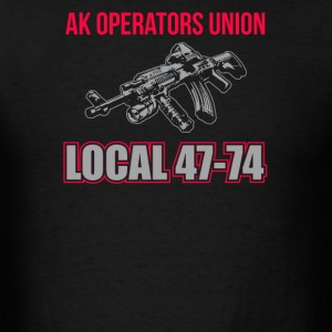 AK Operators Union Local 47-74 - Men's T-Shirt