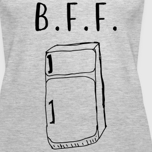Fridge is my B.F.F. Tanks - Women's Premium Tank Top