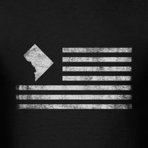 Washington State United States Flag Vintage USA - Men's T-Shirt