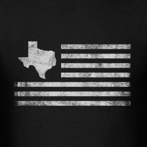 Texas State United States Flag Vintage USA - Men's T-Shirt