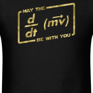 May The Force Equation - Men's T-Shirt