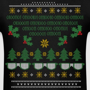 Geek Ugly Christmas Sweater - Men's T-Shirt