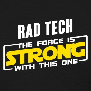 Rad Tech The Force Is Strong With This One Yellow T-Shirts - Women's T-Shirt