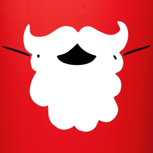 Santa Moustache Mugs & Drinkware - Full Color Mug
