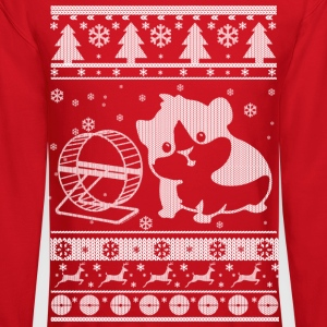 Guinea Pig Ugly Christmas Long Sleeve Shirts - Crewneck Sweatshirt