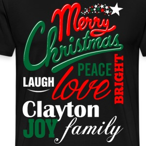 Merry Christmas Laugh Peace Love Bright Joy Cobb F T-Shirts - Men's Premium T-Shirt