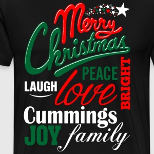 Merry Christmas Laugh Peace Love Bright Joy Cummin T-Shirts - Men's Premium T-Shirt