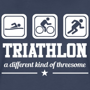 Triathlon - Threesome T-Shirts - Women's Premium T-Shirt