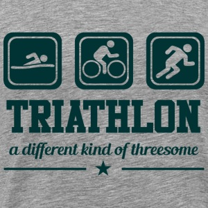 Triathlon - Threesome T-Shirts - Men's Premium T-Shirt