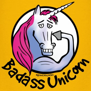 Badass Unicorn Baby & Toddler Shirts - Toddler Premium T-Shirt