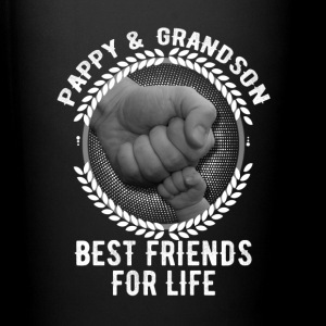 Pappy And Grandson Best Friends For Life Mugs & Drinkware - Full Color Mug