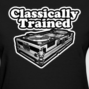 Classically Trained Dj. T-Shirts - Women's T-Shirt