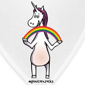 Magic unicorn with a rainbow Caps - Bandana