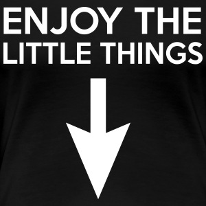 Enjoy the little things (arrow) T-Shirts - Women's Premium T-Shirt