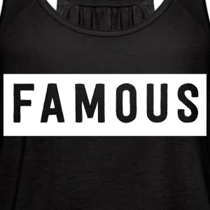 FAMOUS Tanks - Women's Flowy Tank Top by Bella