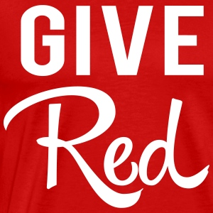Give Red. Blood T-Shirts - Men's Premium T-Shirt