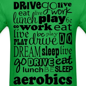 Aerobics Exercise Gift T-Shirts - Men's T-Shirt