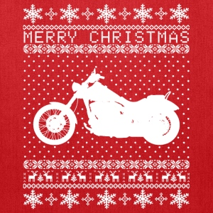 Ugly Bike Xmas Sweater Bags & backpacks - Tote Bag