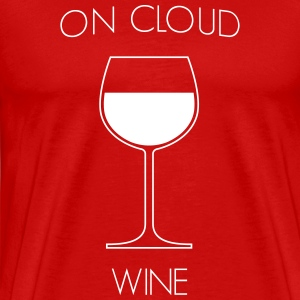 On Cloud Wine T-Shirts - Men's Premium T-Shirt