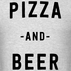 Pizza and Beer T-Shirts - Men's T-Shirt