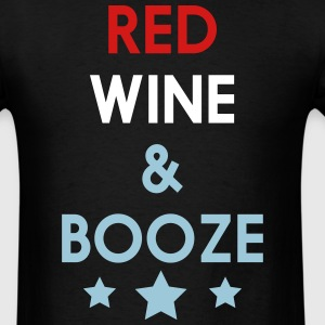 Red, Wine & Booze T-Shirts - Men's T-Shirt