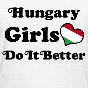 hungary girl 111.png T-Shirts - Women's T-Shirt
