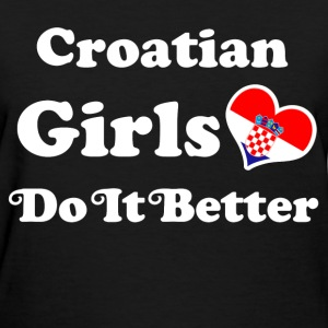 croatian girl 111.png T-Shirts - Women's T-Shirt