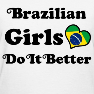 brazillian girl 115.png T-Shirts - Women's T-Shirt