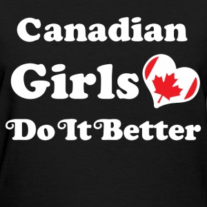 canadian girl 123.png T-Shirts - Women's T-Shirt