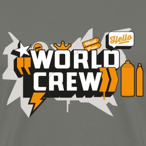 Graffiti World Crew - Men's Premium T-Shirt